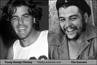 Young George Clooney Totally Looks Like Che Guevara
