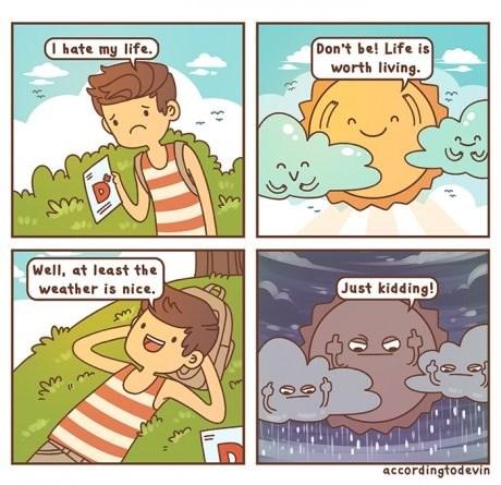 The Weather is Cruel
