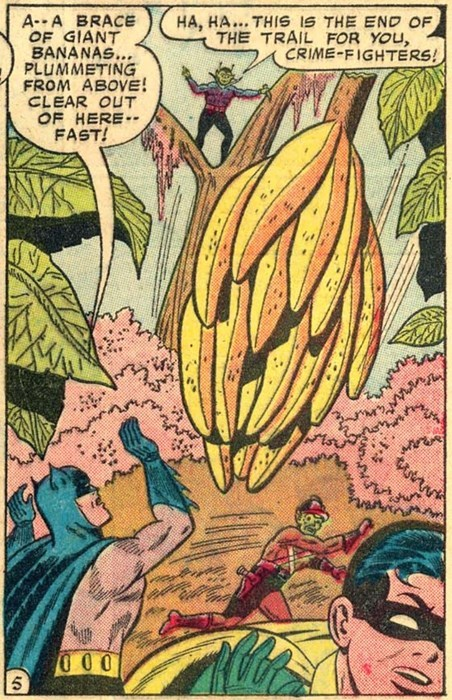 You Can't A-Peel To Supervillains