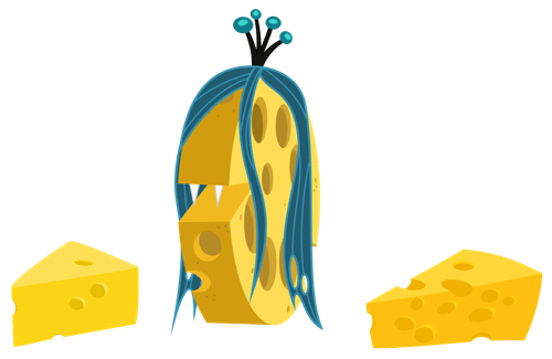 Cheesalis, The Wheel of Change-Cheese