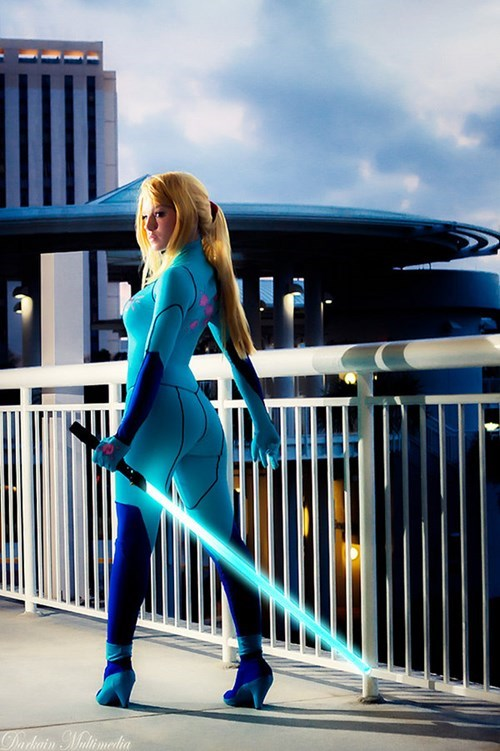 Samus Has the Beam Saber, You're in Trouble Now