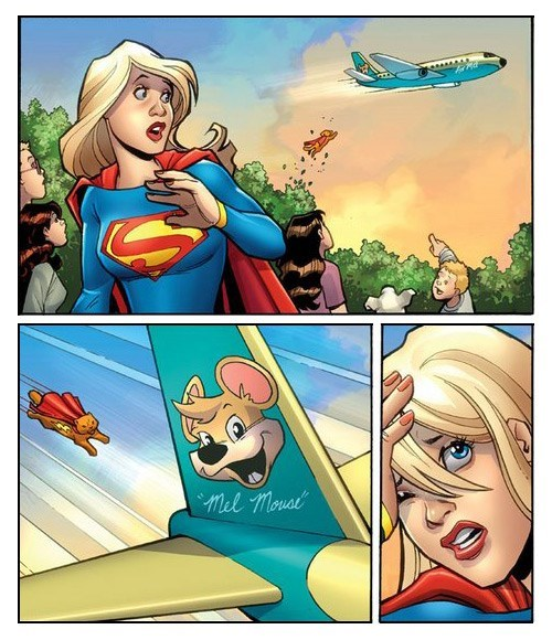 Supergirl VS Supercat
