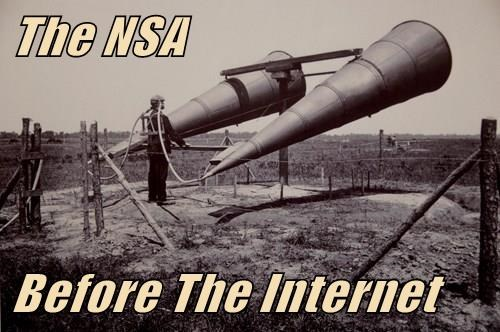 The NSA  Before The Internet