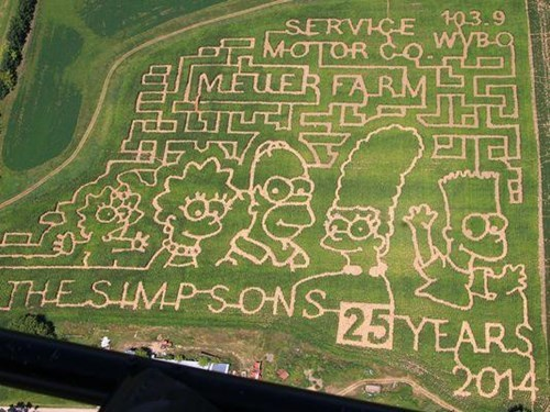 This Corn Maze Might Also Take 25 Years to Get Through