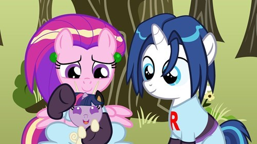 Team Rocket blast off at the speed of light! Twilight, that's right!