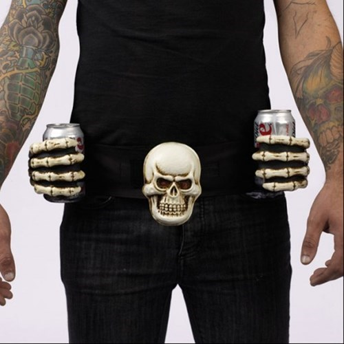 Bet Way to Hold Drinks, No Bones About It
