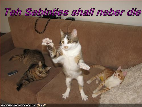 Teh Sebinties shall neber die