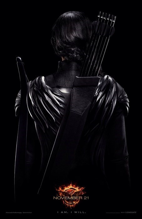 Katniss' Mockingjay Poster is Dark and Dangerous