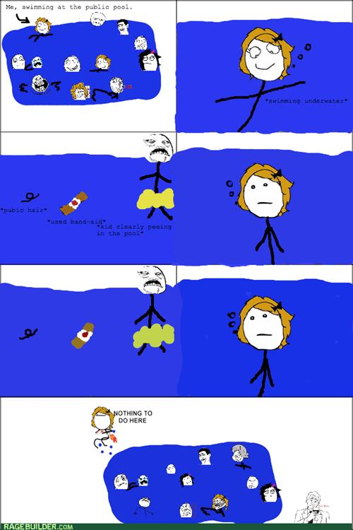 I'm Never Swimming Again