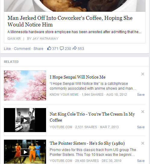 """The """"Related Content"""" is Just the Icing on the Cake"""