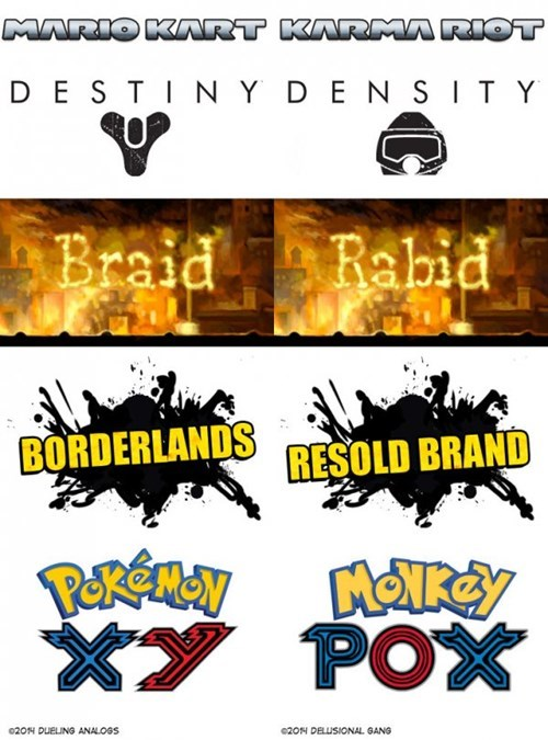 Video Game Anagrams