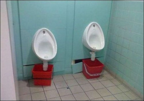 Budget Cuts Always Hit the Bathroom First