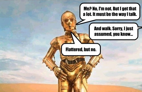 The Life of a Flamboyant Droid