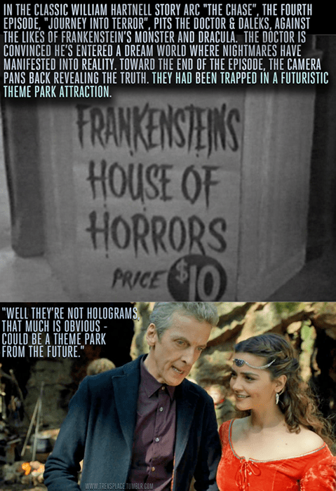 Gotta Love The Classic Who References