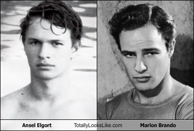 Ansel Elgort Totally Looks Like Marlon Brando