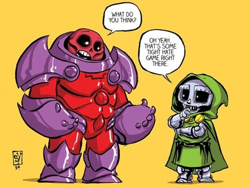 red onslaught,doctor doom