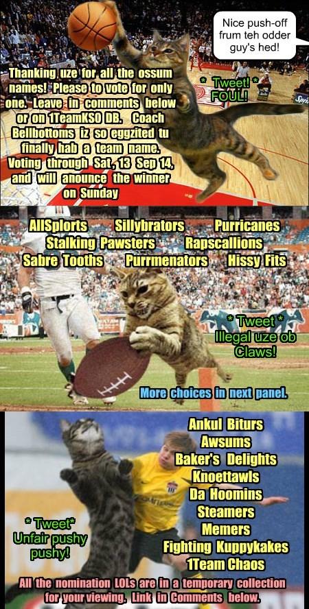 KKPS Sports Team Name Voting LOL