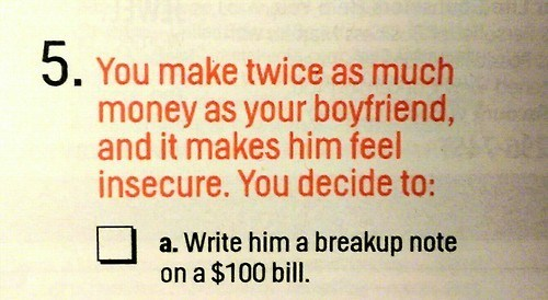 Great Suggestion, Cosmo...