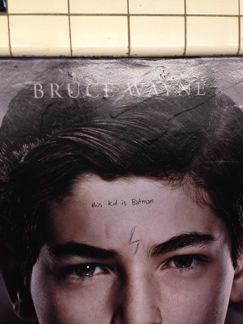 Subway Graffiti Completely Spoils FOX's Gotham