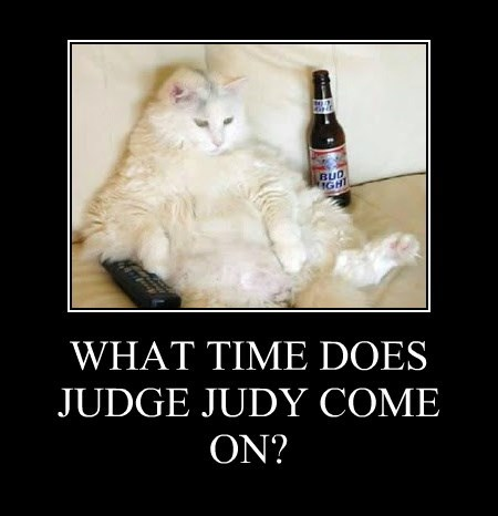 WHAT TIME DOES JUDGE JUDY COME ON?