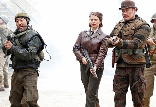 The Howling Commandos Join Hayley Atwell in TVGuide's 'Agent Carter' Preview