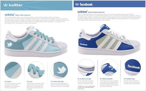 Would You Wear Social Media Kicks?