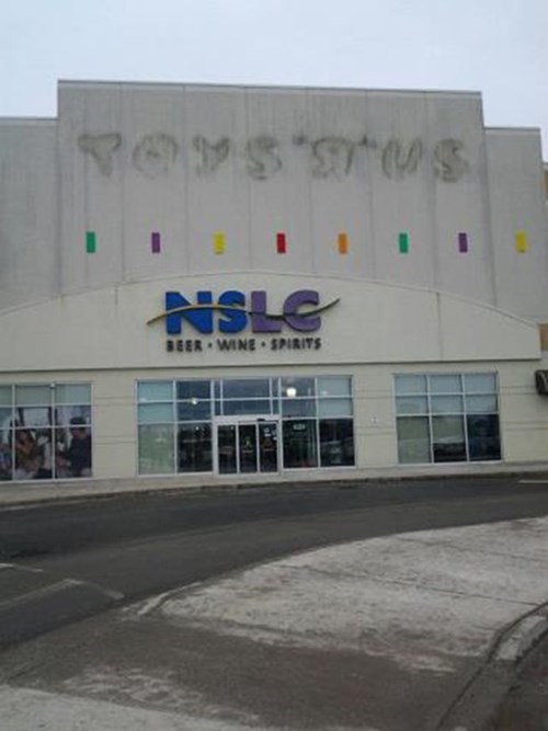 after 12,liquor store,toys r us