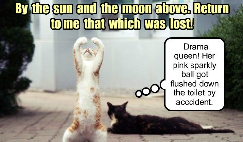 By  the  sun  and  the  moon  above.  Return to me  that  which  was  lost!