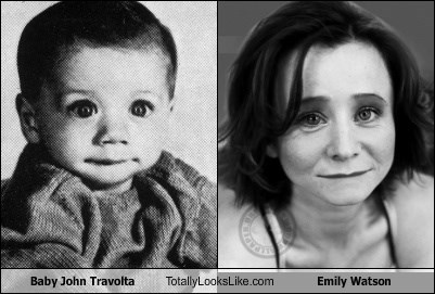 Baby John Travolta Totally Looks Like Emily Watson