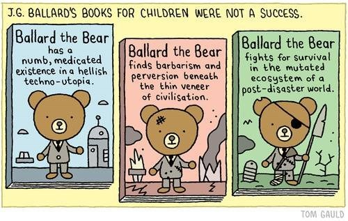 JG Ballard Found Little Success as the Author of Children's Stories