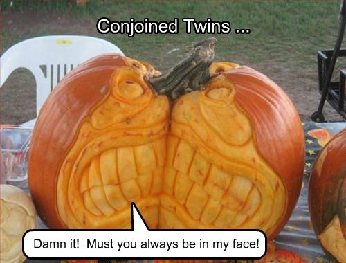 Conjoined Twins ...