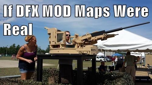 If DFX MOD Maps Were Real