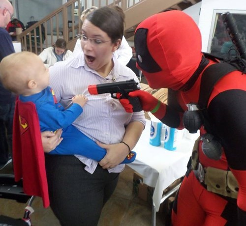 Don't Let Deadpool Around Babies