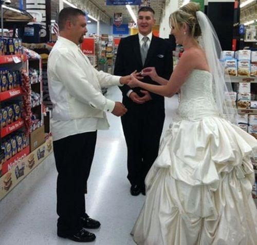 marriage,wedding,Walmart