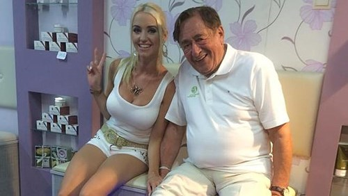 Playboy Model Cathy Schmitz Marrys Billionaire Richard Lugner, 81
