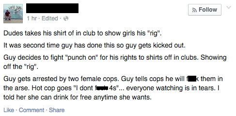 Read Him His Burn Rights, Chief
