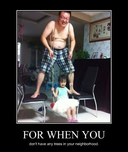 Now That's a Devoted Dad