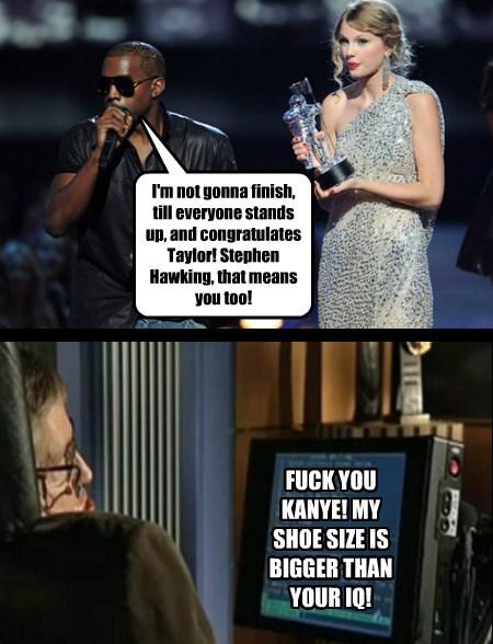 Kanye puts his foot in it again......