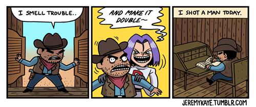 Team Rocket Wouldn't Make it in the Wild West