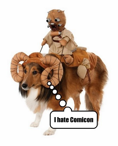 Tiny Bantha Takes One For The Team