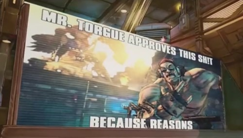 Mr. Torgue Meme from Borderlands: The Pre-Sequel
