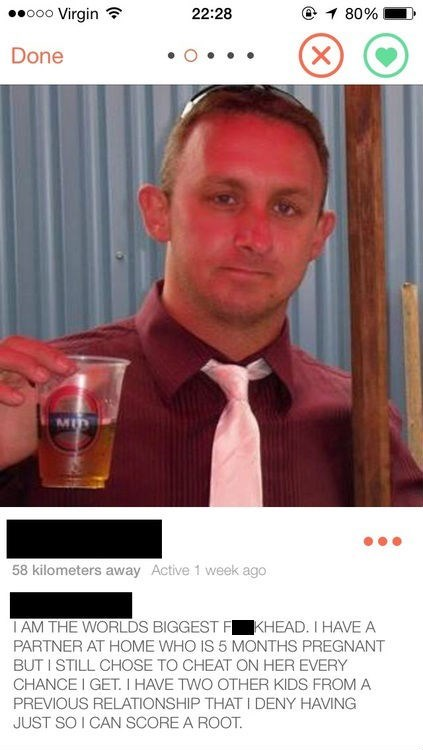 Looks Like His Girlfriend Got Ahold of His Profile