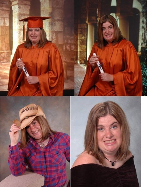 Sometimes You Just Can't Take a Good Graduation Photo