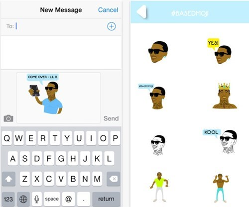 Rapper, Producer, and Full-Time Twitter-er Lil B Can Be Your Newest Emoji Set