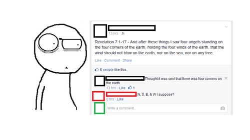 bible,facepalm,science,earth