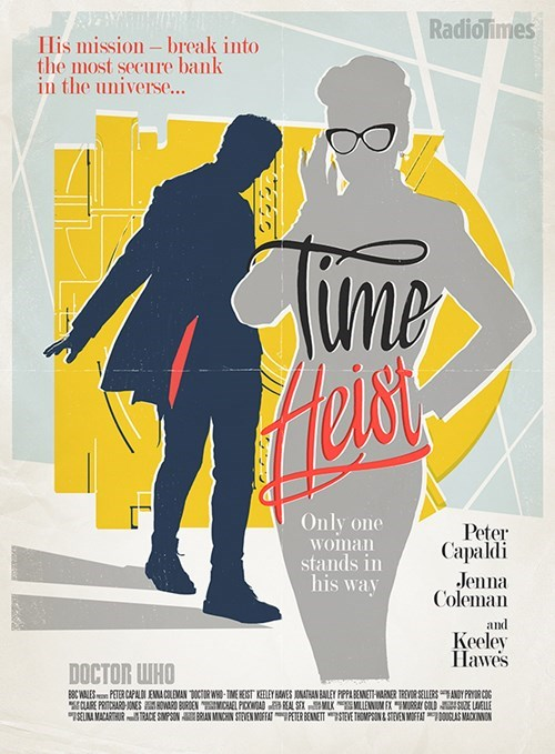 The Radio Times' Poster for 'Time Heist' is an Homage to Ocean's 11