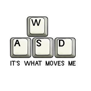 PC,keyboard,WASD