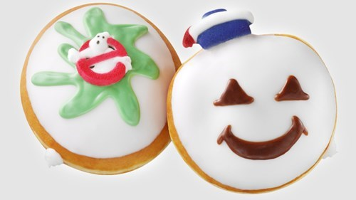 Krispy Kreme is Offering These Doughnuts in Honor of the 30th Anniversary of Ghostbusters!