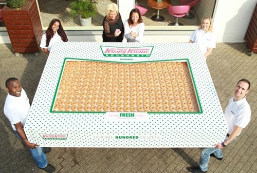 Krispy Kreme Kicked Off Their UK Doughnut Delivery Program With a Special 200-Dozen Special