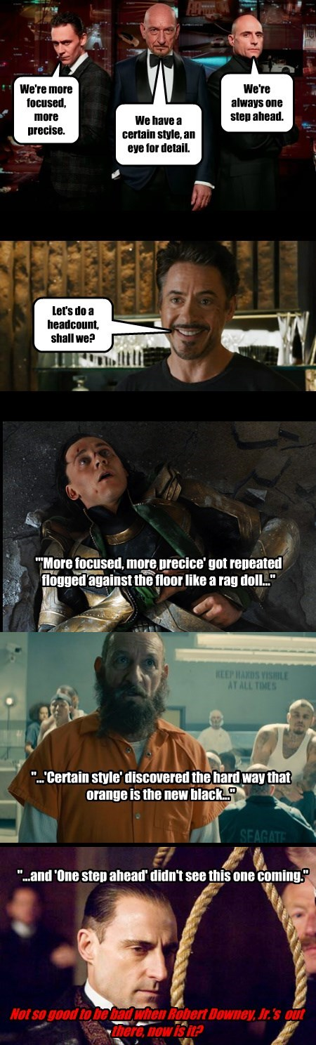 #Loki, #TheMandarin & #LordBlackwood talk a big game #GoodToBeBad